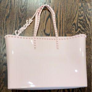 Carmen Sol Large Italian Studded Bag
